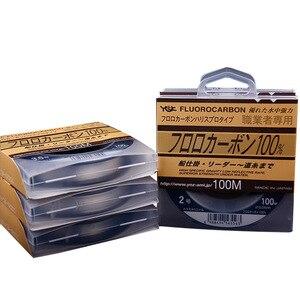 Image 5 - YGK Professionals Fluorocarbon Leader Line 100m No0.8 20 Made In Japan