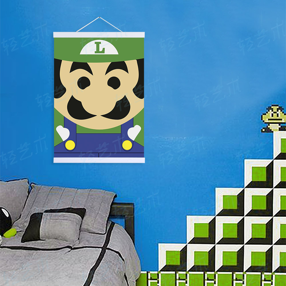 Online Buy Wholesale Super Mario Painting From China Super Mario Super Mario Bedroom Decor