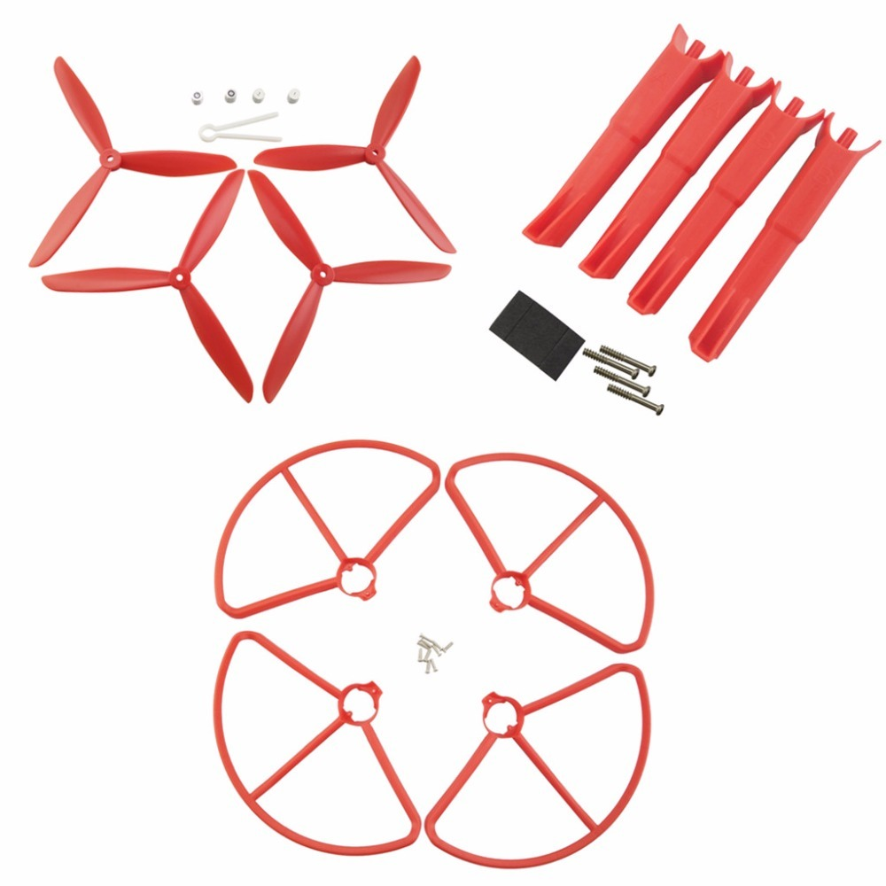 все цены на Crash bag Spare parts for MJX B2C B2W Bugs 2 RC Quadcopter ,landing gear and propeller and propeller guard