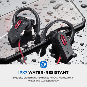 Image 3 - Mpow Flame 2 ipx7 Waterproof Bluetooth 5.0 Sports Earphone 13hours Playing Time HD Stereo Sound For iPhone Samsung Huawei Xiaomi