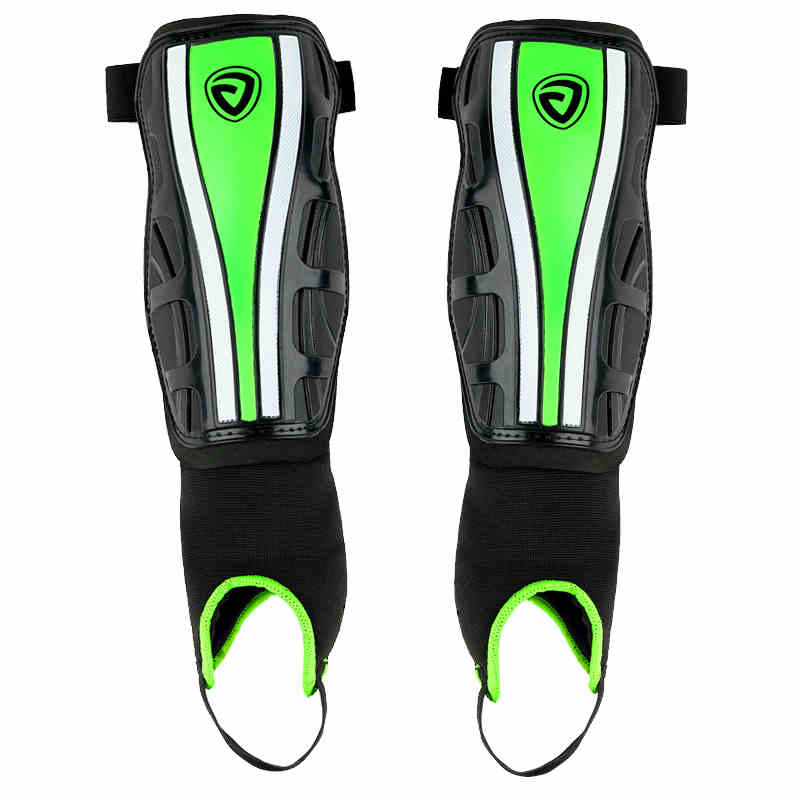 Unisex Professional Football Shin Guard Protective Pads Soccer Leggings Plate Football Training Shin Guard With Ankle Protector