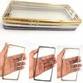 Armadura de oro claro transparente tpu soft case cubierta para huawei ascend p8 p8 mini funda casos para huawei p8 lite lite piel