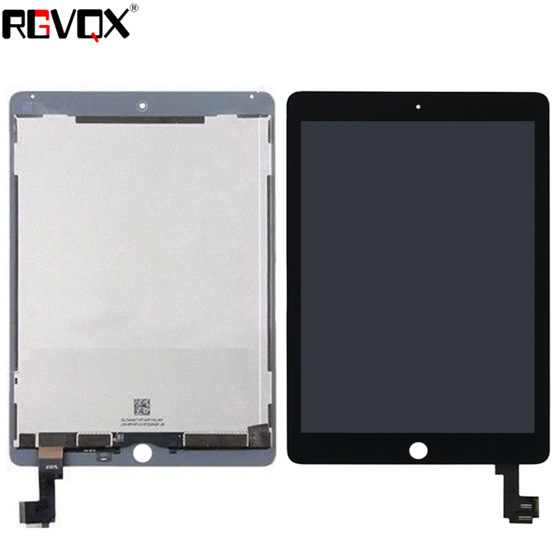 LCD Digitizer Assembly for Apple iPad Air 2 Black Front Glass Touch Screen