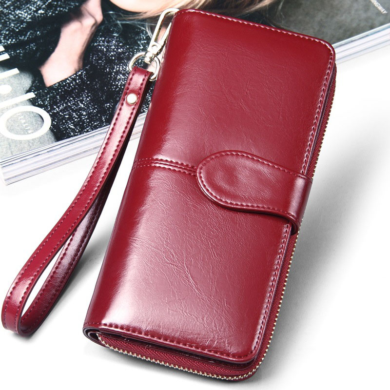 где купить Fashion Women PU Leather Wallet Long Card Holder Case Clutch Purse Handbag Bag WML99 дешево