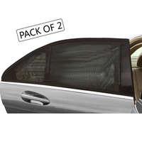 TIROL T11724 A 2PCSNewMesh UV Protection Car Window Rear Side Window Sun Shades For Family Outdoor