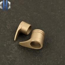 DIY Knife Block Hand Guard Accessories Manual Friend Parts Copper Head Steel Outdoor Brass