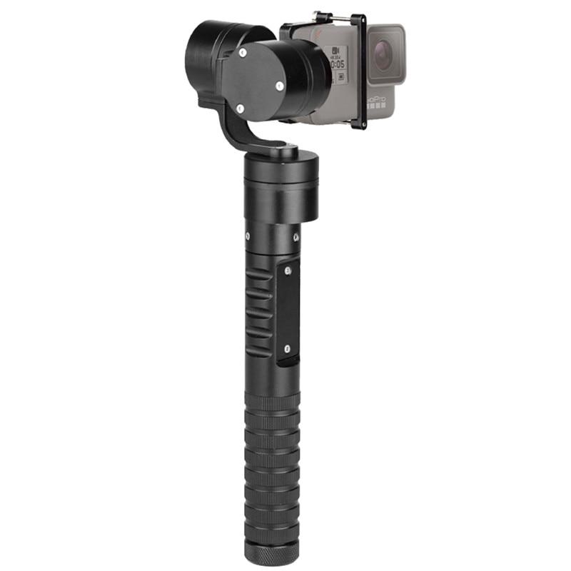 Новый afi A5 Профессиональный 3 оси ручной устойчивый Gimbal действие Камера стабилизатор Gimbal палка для селфи подходит для GoPro 6 5 4 3 +