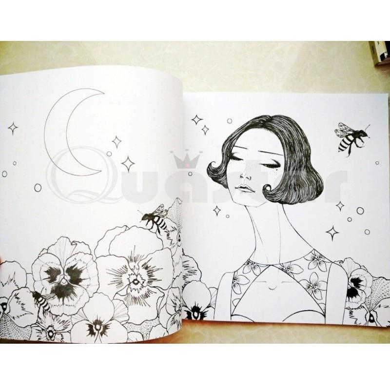 Excelente Chica Para Colorear Libros Inspiración - Dibujos Para ...