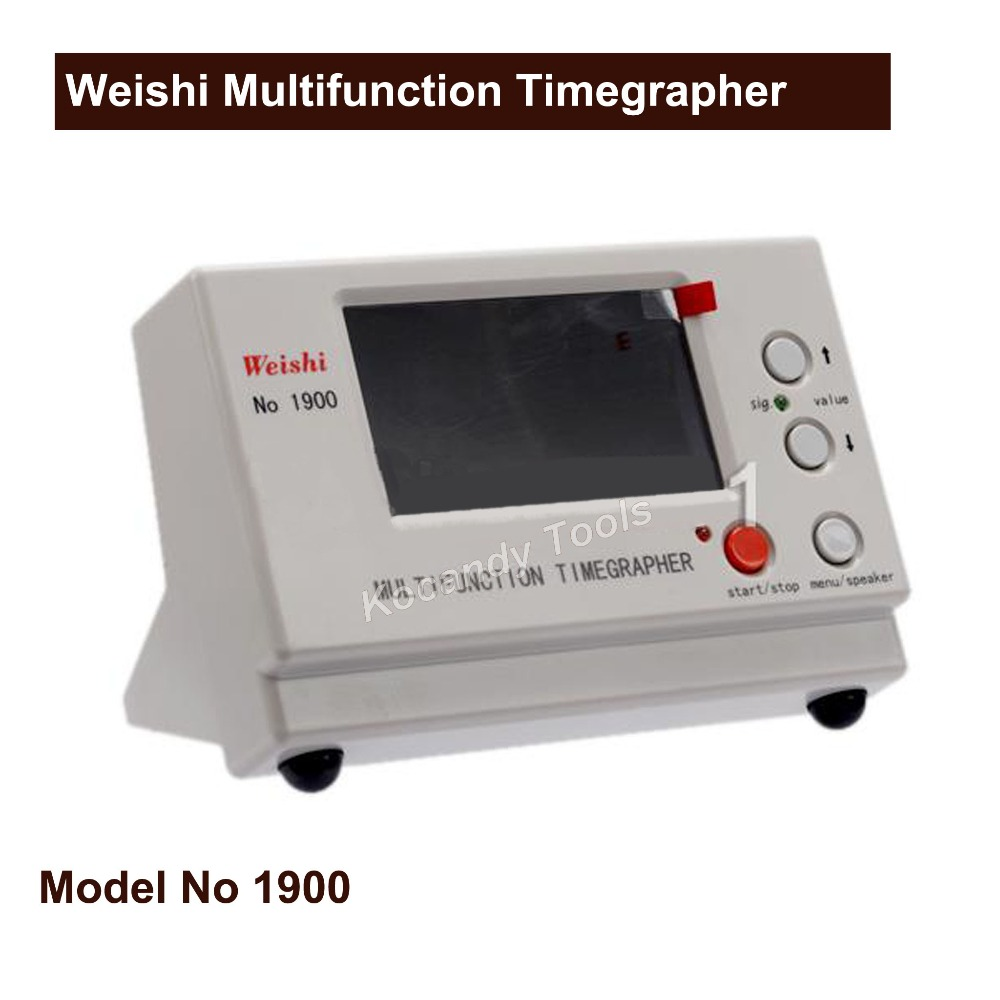 Multifunction Timegrapher 1900 Professional Watch Timing Machine Weishi NO.1900 for Watchmakers Watch TesterMultifunction Timegrapher 1900 Professional Watch Timing Machine Weishi NO.1900 for Watchmakers Watch Tester