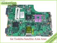 SPS V000198120 PN 1310A2256302 For toshiba SATELLITE A500 A505 laptop motherboard GM45 DDR3