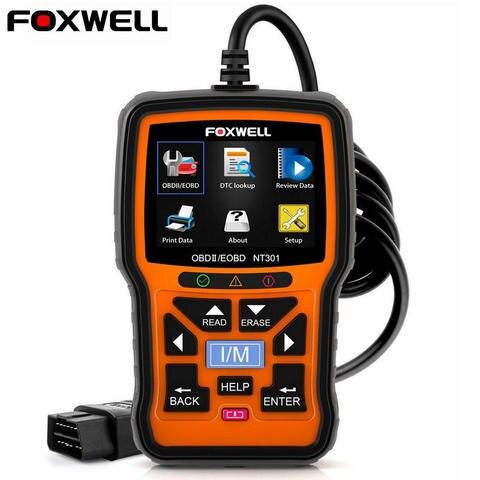 Foxwell NT301 OBD OBD2 Scanner Car Engine Code Reader Diagnostic Tool Multi-languages Universal odb 2 odb2 Automotive Scanner Pakistan
