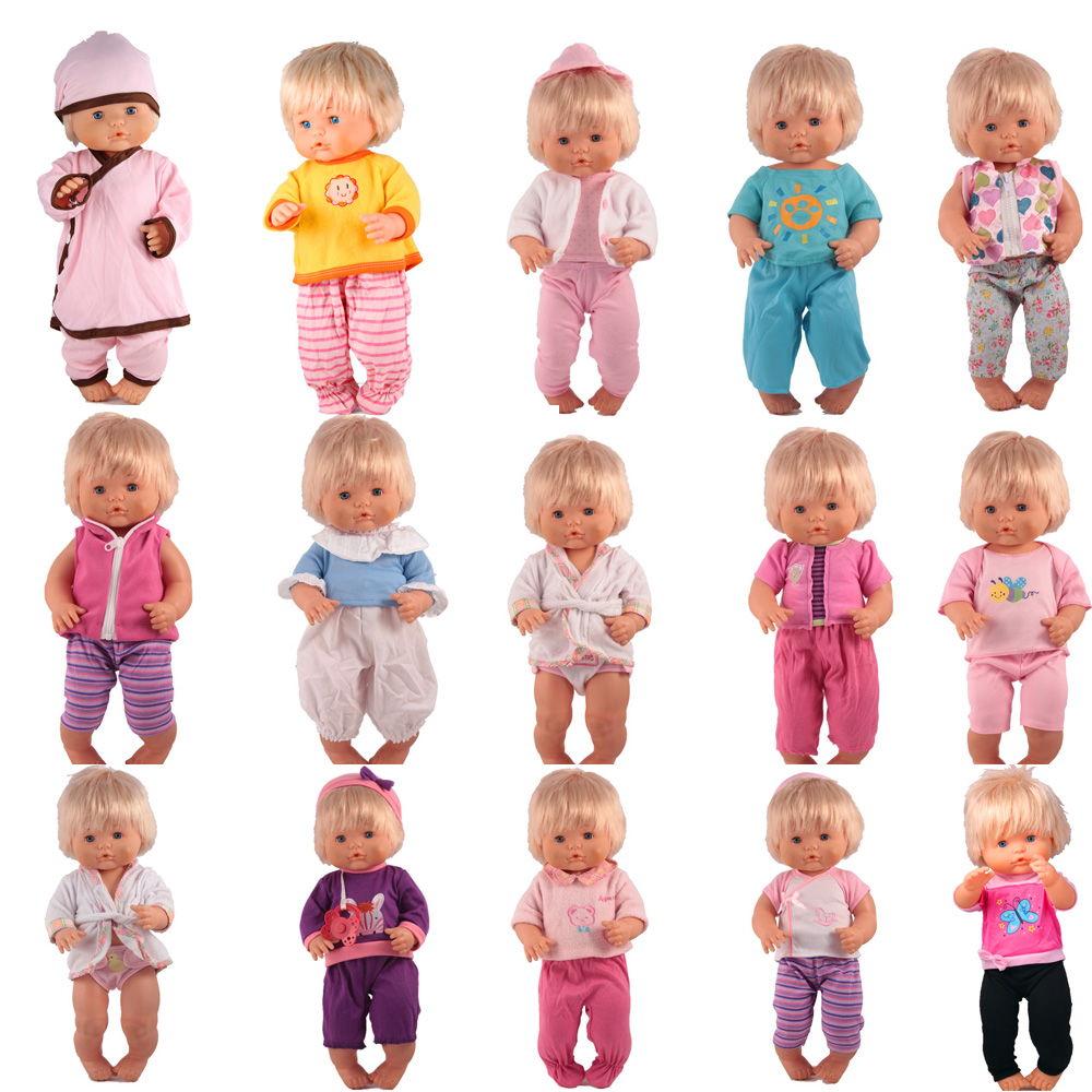 Doll Clothes Fit 41 Cm Nenuco Doll Nenuco Y Su Hermanita 15styles Different Doll Outfits For 16inch Ropa Nenuco Doll