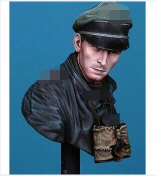 Assembly Unpainted <font><b>Scale</b></font> <font><b>1/10</b></font> <font><b>Bust</b></font> officer 1935 Historical toy Resin Model Miniature Kit image