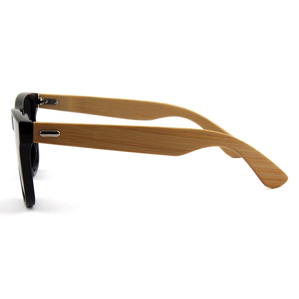 Willenskraft Masculino Smoke Sonnenbrille Sol Markendesigner Original Männer De Oculos Spiegel Gläser Holz Lens Bambus Frauen g7rqgO