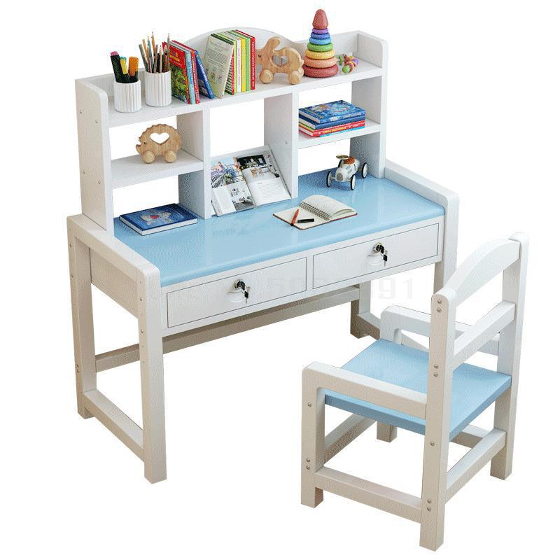 Desk Chair Set Of Household Bookcase