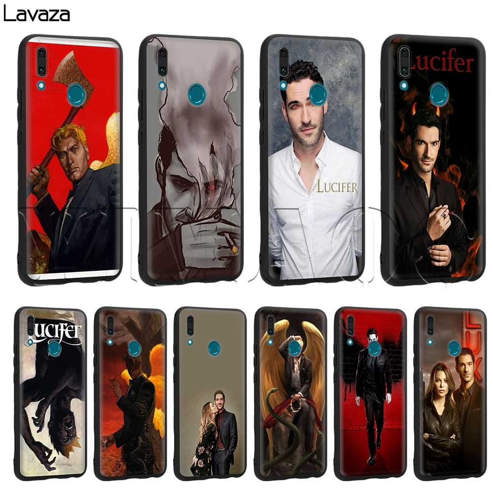 Lavaza Lucifer TIVI dành cho Huawei Mate 10 P8 P9 P10 P20 P30 Y7 Y9 Lite Pro P Mini Thông Minh 2017 2019 2018