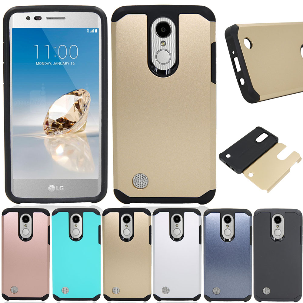 2 In 1 TPU & Hard PC Back Armor Case Anti Drop Phone Cover