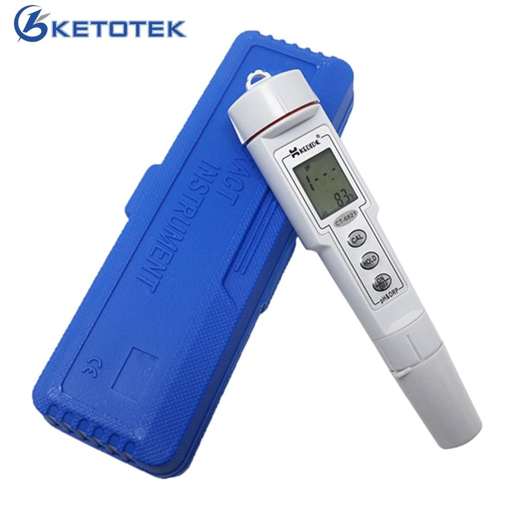 Mini 2 в 1 аквариум рН воды и ОВП тестер монитор PH метр качество воды диагностический инструмент
