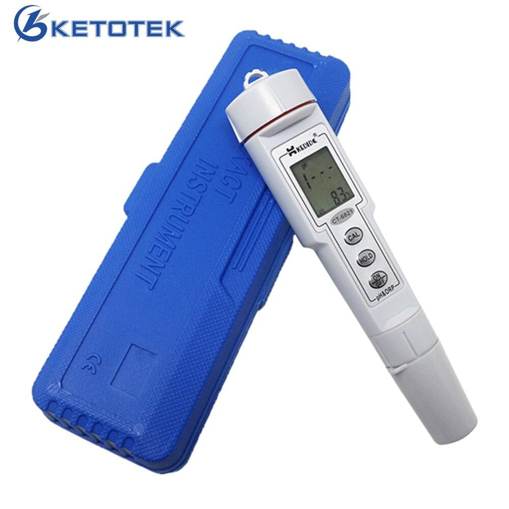 Mini 2 em 1 Água Do Aquário PH & ORP Monitor Tester Medidor de pH Qualidade Da Água de Diagnóstico-ferramenta