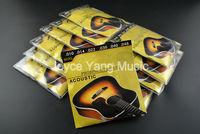 10 Sets Of 60XL 010 048 Stainless Steel Phosphor Bronze Strings Acoustic Guitar Strings 1st 6th