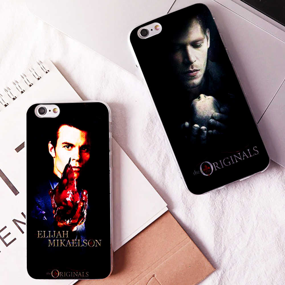 ab442bce01 ... DK Always and forever Elijah and klaus new phone case Cover Hard  Transparen for iPhone 6 ...