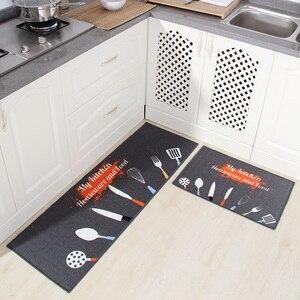 Image 1 - [Byetee] кухонный коврик, длинный водопоглощающий нескользящий коврик, дверной коврик, маслостойкий коврик для ног, подушка для ванной, коврик для спальни и кровати