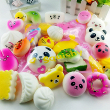 10Pcs Squishy Antistress Toys For Children Slow Rising Funny Gadgets Kids Stress Relief Cute Squisy New Squeeze Squichy Fun Toy цена и фото