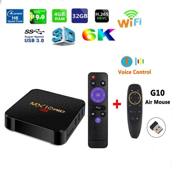 MX10 dijital ekran Ile PRO TV Kutusu Set Top Box Android 9.0 4 GB RAM 32 GB ROM ALLWINNER H6MX10 dijital ekran Ile PRO TV Kutusu Set Top Box Android 9.0 4 GB RAM 32 GB ROM ALLWINNER H6