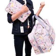 2021 New Folding Travel Bag Large Capacity Waterproof Bags Portable Women's Tote Bag Travel Bags Women
