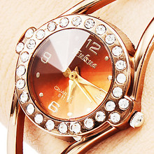 Luxury Rhinestone Bracelet Watches Women Rose Gold Watch Women Watches Clock Lady Hour montre femme relogio feminino reloj mujer