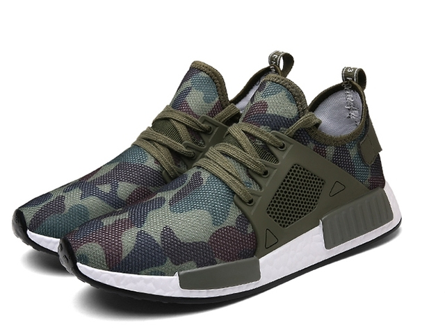 2017 Military Camouflage Breathable Men's Sport Running