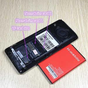 "Image 5 - על מכירת חיסול 2.8 ""מסך הכפול Sim גדול קול נייד טלפון ספרדית רוסית שפה רוסית מקלדת T100 T200 טלפונים"