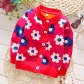 Clearance Autumn Winter Kids Character Pattern Sweaters For Girls/Boys Baby Girls Sweater Cardigan Knit Children Clothing C-1562