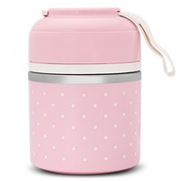 Cute Mini Portable Japanese Bento Box Leak Proof Stainless Steel Thermal Lunch Boxs For Kids Picnic