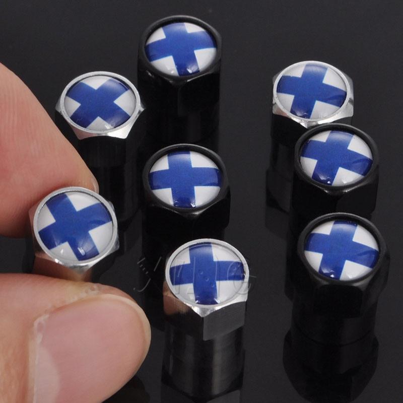 Hemi Black Logo Chrome ABS Tire//Wheel Stem Air Valve CAPS Covers set 4
