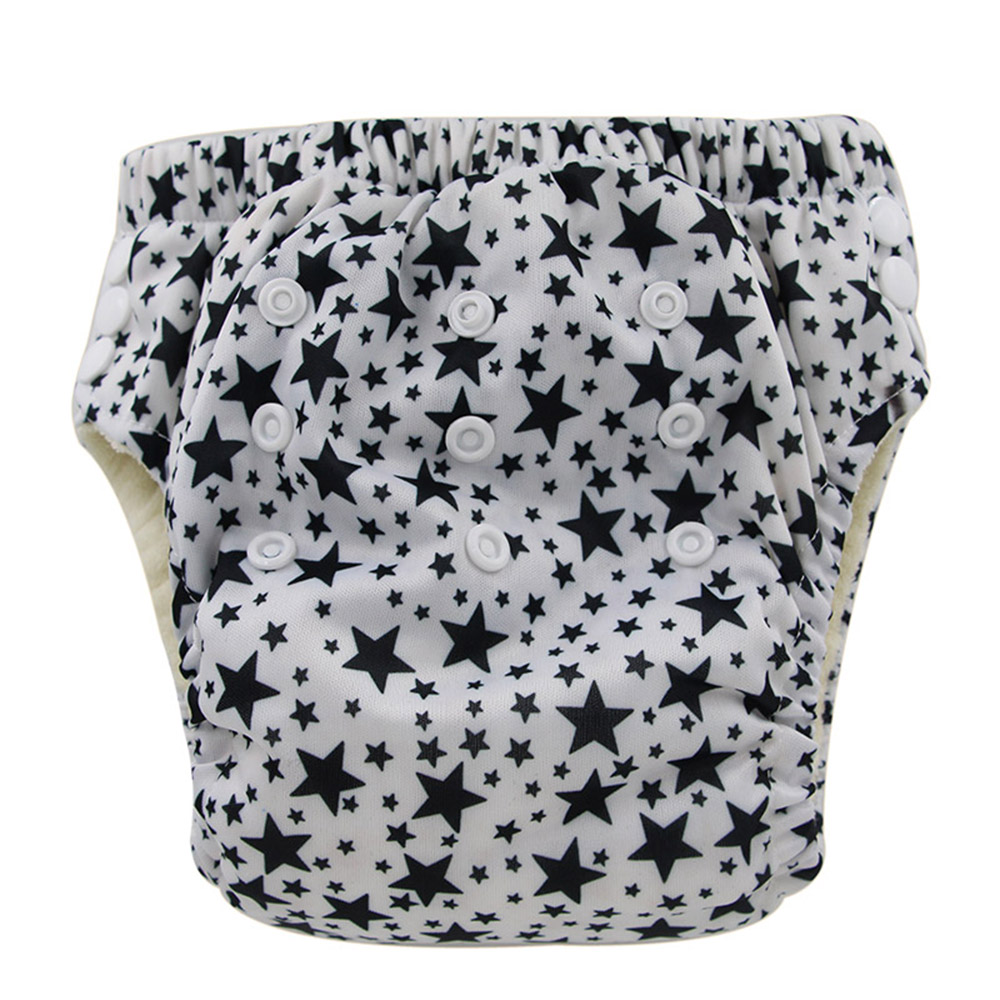 Ohbabyka Lovely Printed Training Pants Waterproof Cloth Diaper Nappy Washable Learning Pants Toddler Potty Underwear 17Colors