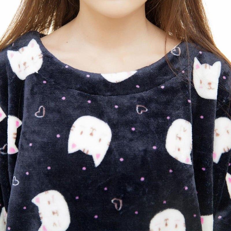 Взрослый Фланелевую Пижаму Устанавливает mujer Взрослых Мультфильм ... d9983c10d71a4