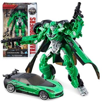 Hasbro Transformers Toy Movie 5 Enhanced Cross Crosstown C2961 hasbro transformers genuine movie series mb 13 broken bone boy toy