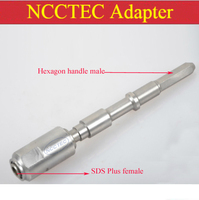 Adapter Adaptor Connector SDS PLUS Female Transmit To Hexagon Handle Male For Electric Hammer Which Has