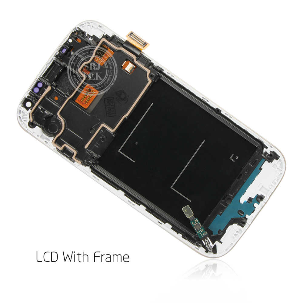 5.0 ''شاشات lcd لسامسونج غالاكسي S4 شاشة الكريستال السائل مع الإطار GT-i9505 i9500 i9505 i9506 i9515 i337 محول الأرقام بشاشة تعمل بلمس