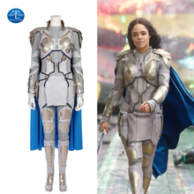 MANLUYUNXIAO Valkyrie Cosplay Halloween Costumes For Women Marvel Movie Thor Ragnarok Superhero Outfit Custom Made Leather Suit