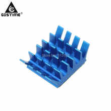 10pcs Computer VGA Card Xbox360 DDR RAM IC PC Chipset Memory Aluminum Blue X8 Cooler Heatsink цена и фото