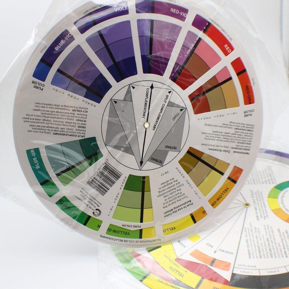 2 piezas de maquillaje permanente Micro Pigmento Color rueda tatuaje permanente maquillaje accesorios tinta Color rueda Relojes