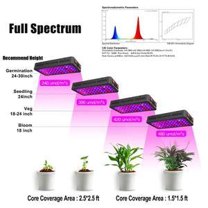 Image 4 - Phlizon 900w espectro completo luz led de cultivo de doble Chip para plantas hidropónicas de interior verduras y floración con CE,RoHs FCC cerificación