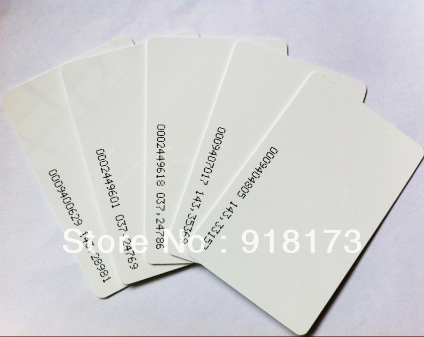 3000pcs/lot TK4100 4102 /EM 4100 chip RFID 125KHz blank card Thin PVC ID Smart Card mango 103 em id thin card white 200 pcs