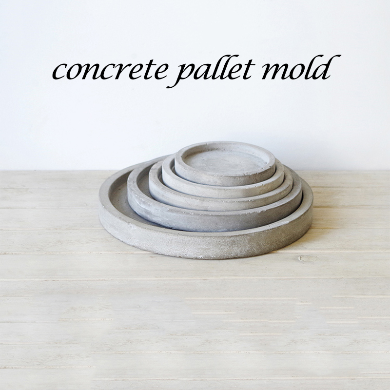 Cement Concrete Tray Mold, Red Wine Bracket Tray, Tray  Bracket Silicone Mold Office Cement Tray Mold