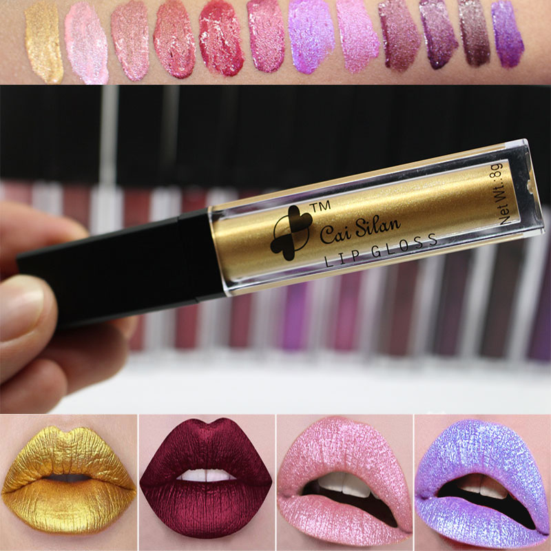 Online Get Cheap Metallic Gold Lipstick -Aliexpress.com   Alibaba ...