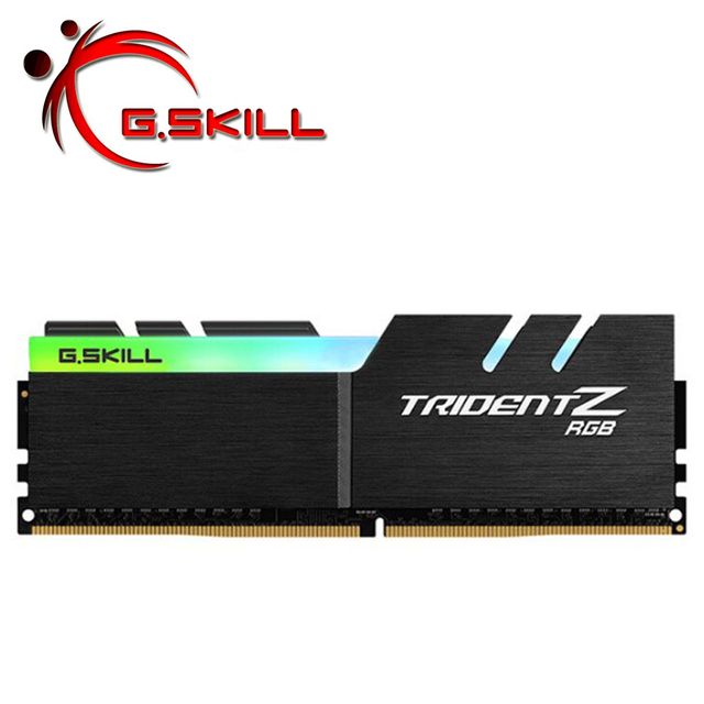 グラム。スキルトライデント z rgb pc の ram メモリアラムモジュール新 l DDR4 メモリ PC4 8 ギガバイト 16 ギガバイト 3200 mhz 3000 デスクトップ 8 グラム 16 グラム 3000 3200 dimm