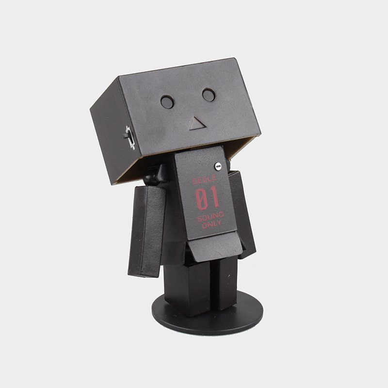 New hot sale anime figure PVC anime figure Mini Danboard black Danbo EVA 01 8CM gift for children free shipping