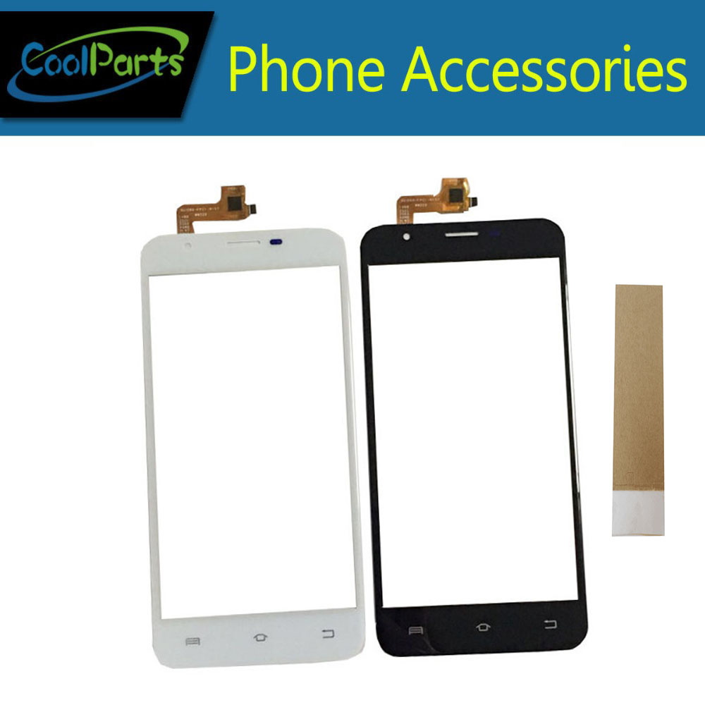1PC/Lot Original Quality 5.5 Inch For BQ BQS 5505 BQS-5505 Touch Screen Digitizer Panel Lens Glass With Tape Black White Color